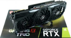 GeForce RTX 2080 Super Gaming X Trio de MSI