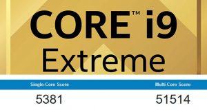 Core i9-10980XE - GeekBench 4.0