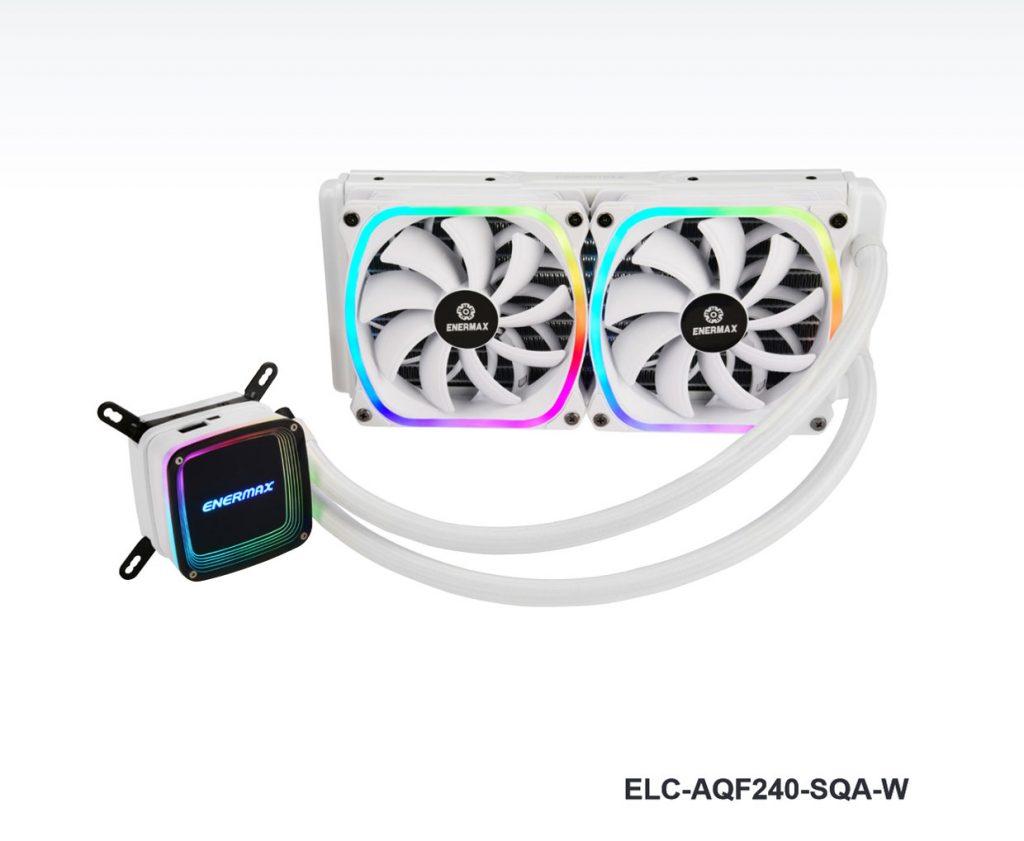 Watercooling AIO AquaFusion 240 White (ELC-AQF240-SQA-W)