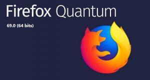 Navigateur Firefox 69 de Mozilla