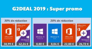 Windows 10 / Office - Offres promos