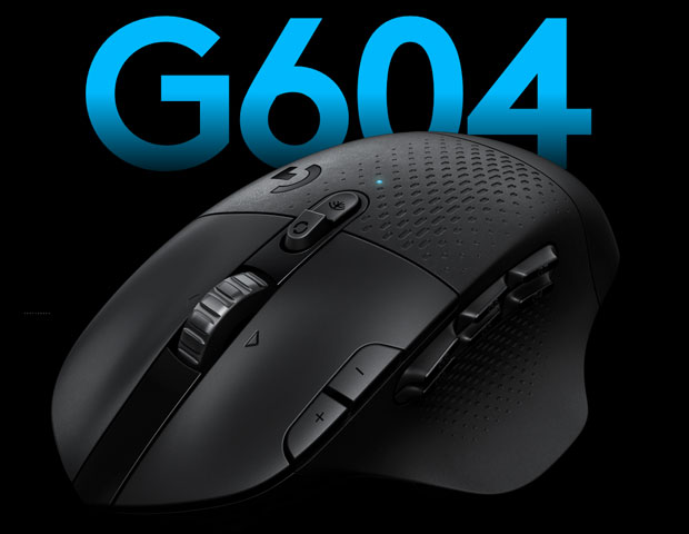 Souris gaming G604 LIGHTSPEED de Logitech