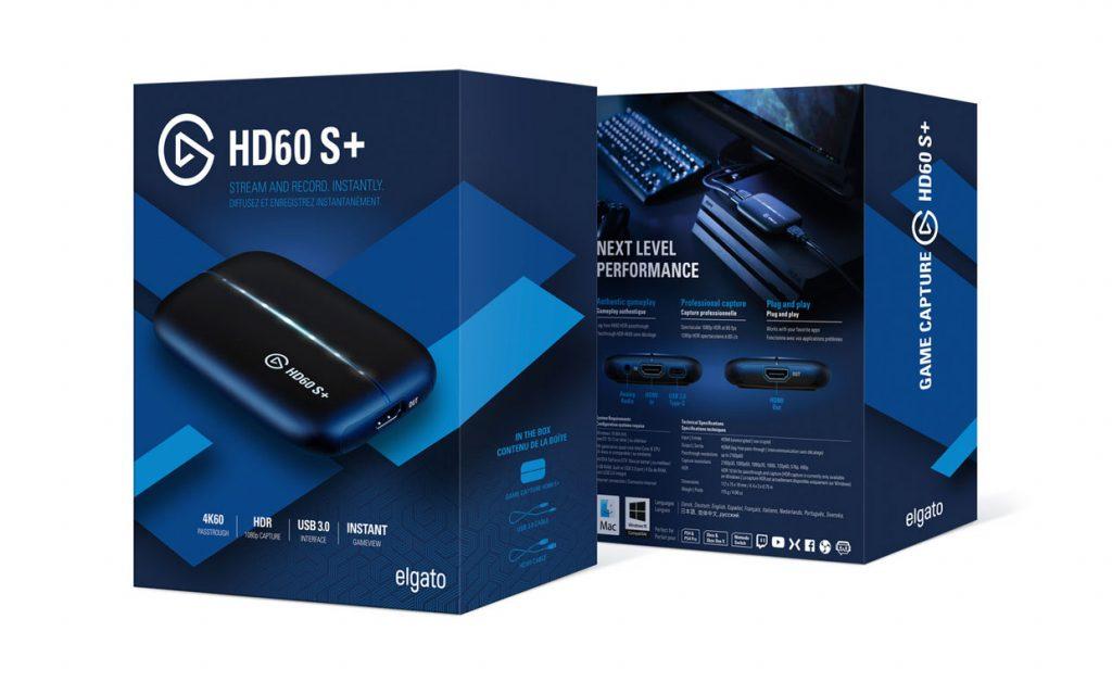Carte de capture vidéo externe HD60 S+ d'Elgato