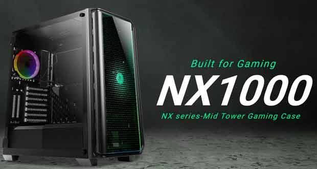 Boitier Gaming NX1000 d'Antec