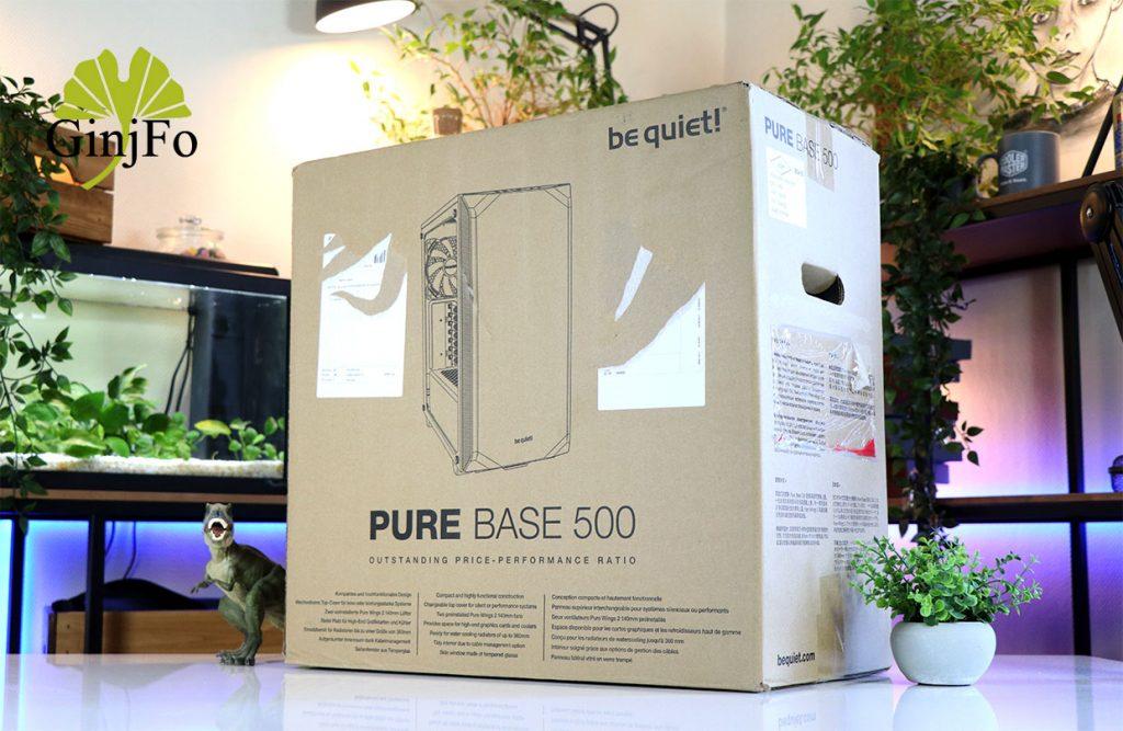 Boitier Pure Base 500 de Be Quiet