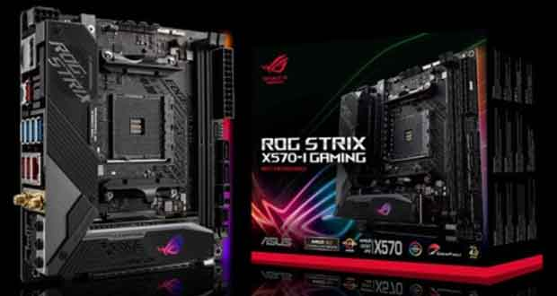 Carte mère ROG Strix X570-I Gaming d'Asus