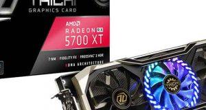 Radeon RX 5700 XT Taichi X 8G OC+ d'ASRock