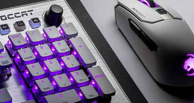Claviers gaming Vulcan 121 AIMO et 122 AIMO de Roccat