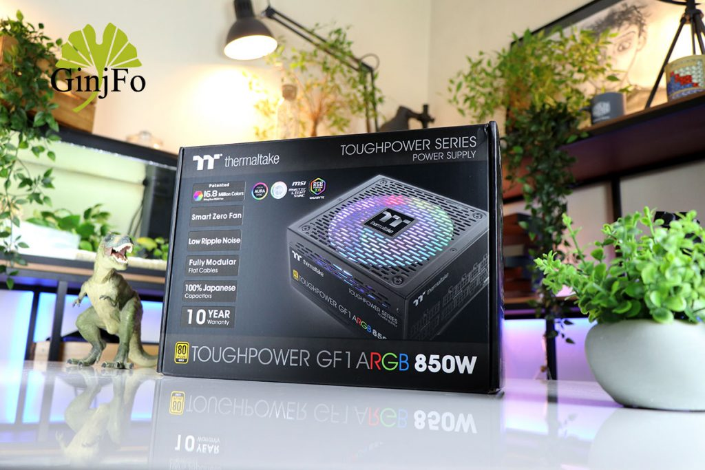 Alimentation Toughpower GF1 ARGB 850 Watts de Thermaltake
