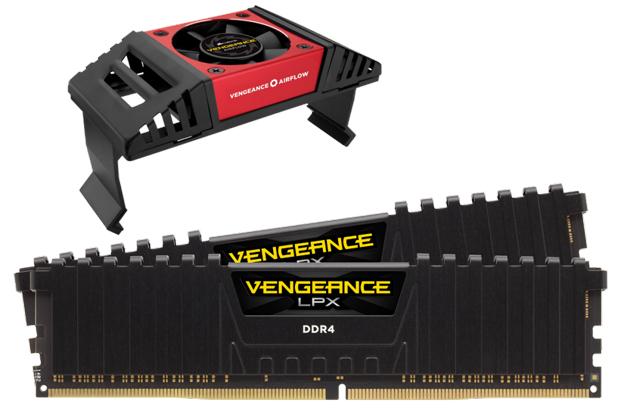 kit mémoire Vengeance LPX DDR4 de Corsair