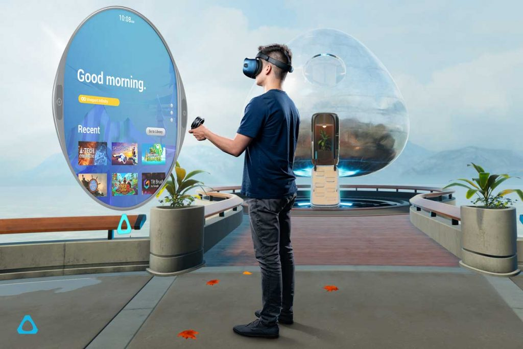 Casque de réalité virtuelle Vive Cosmos d'HTC