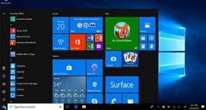 Windows 10 et le Menu Démarrer