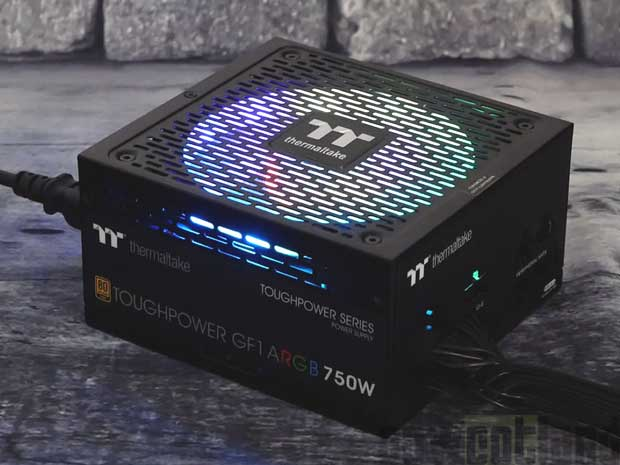 Alimentation Thermaltake Toughpower GF1 ARGB 750 watts