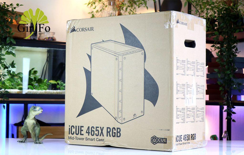 Boitier iCUE 465X RGB de Corsair