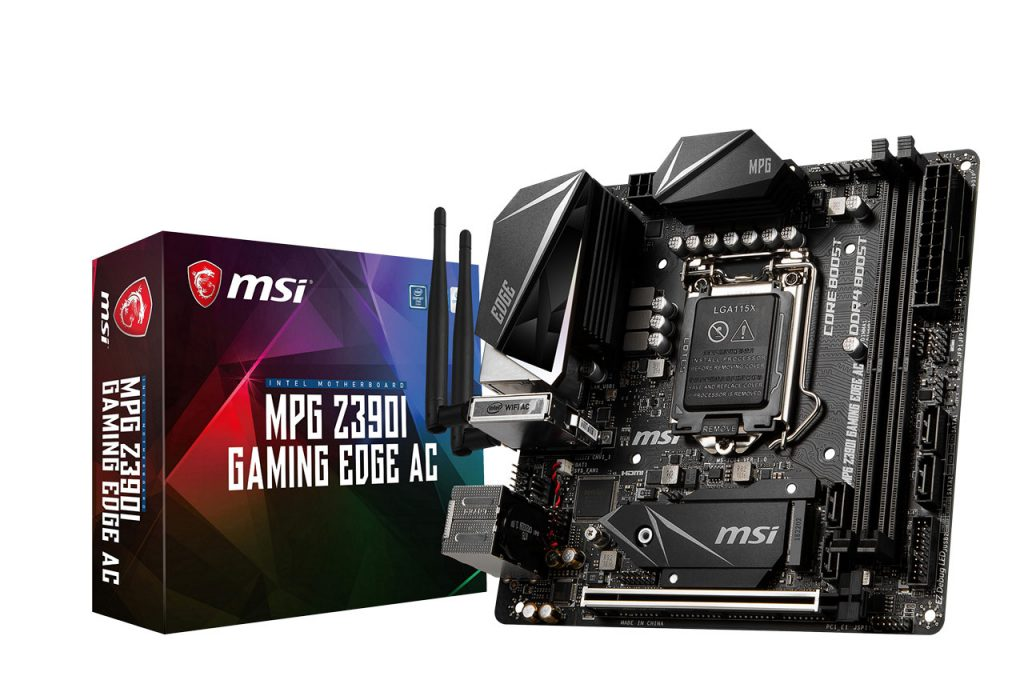 carte mère MSI MPG Z390I GAMING EDGE AC