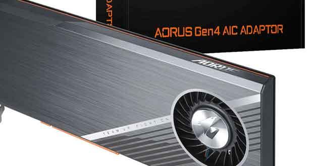 AORUS Gen4 AIC Adapter de Gigabyte