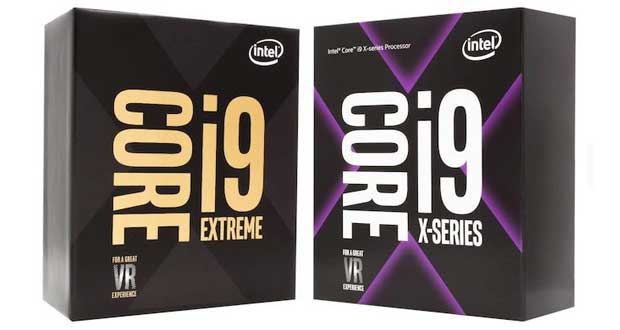 Processeur Intel Core X HEDT Core i9 X-series et Extreme