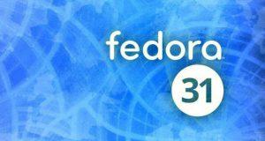 Distribution Linux Fedora 31