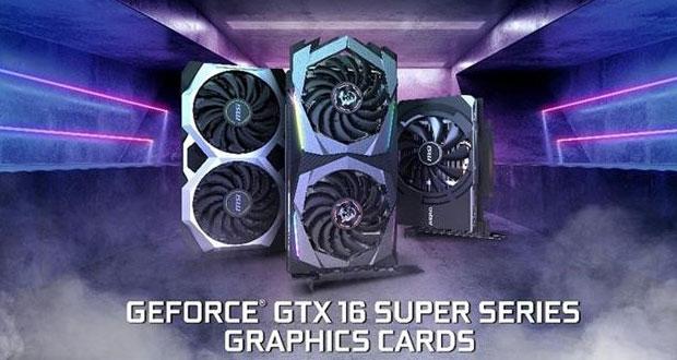 Les GeForce GTX 1660 Super Gaming, Ventus XS et Aero ITX de MSI