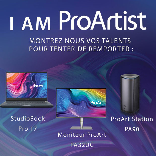 Concours Asus « I Am ProArtist »