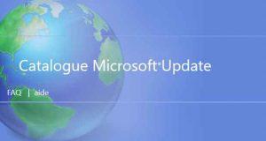 Les mises à jour cumulatives Windows 10 et Microsoft Update Catalog
