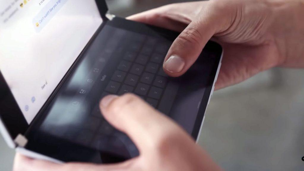 Smartphone Surface Duo de Microsoft