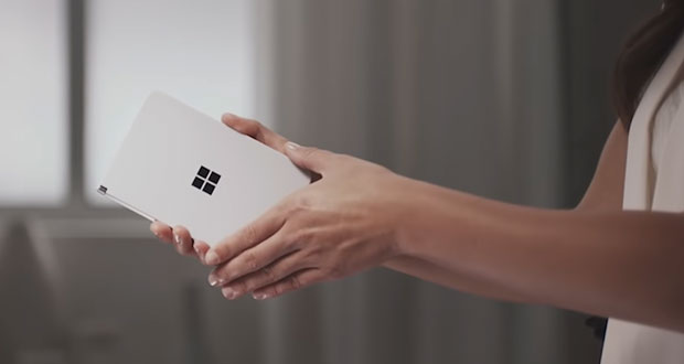 Smartphone Surface Duo de Microsoft