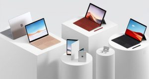 Famille Surface dont le Surface Duo