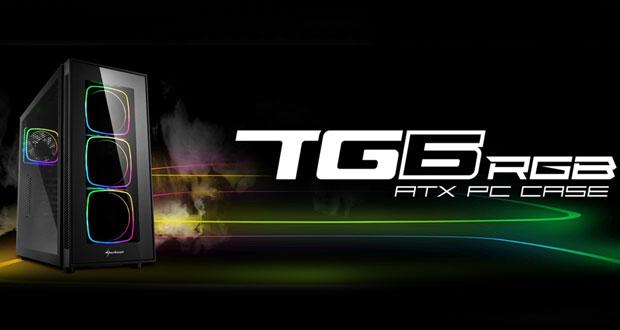 Boitier TG6 RGB de Sharkoon