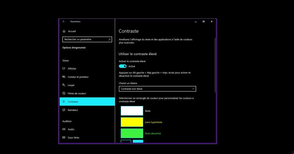 Windows 10 et la personnalisation de son interface