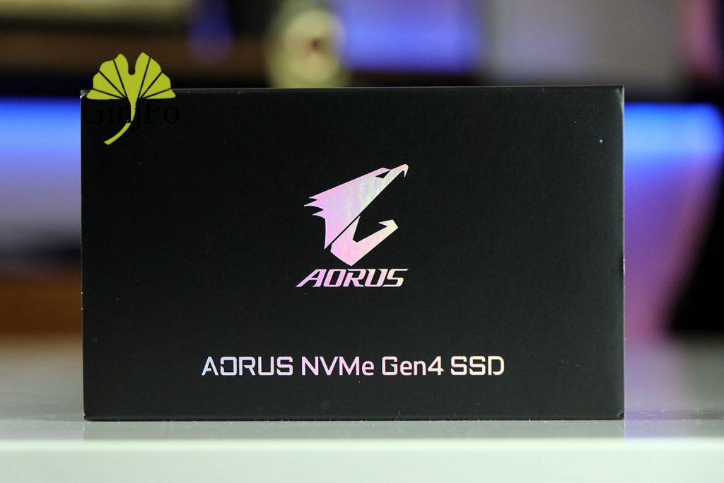 Aorus NVMe Gen4 SDD (500 Go) de Gigabyte