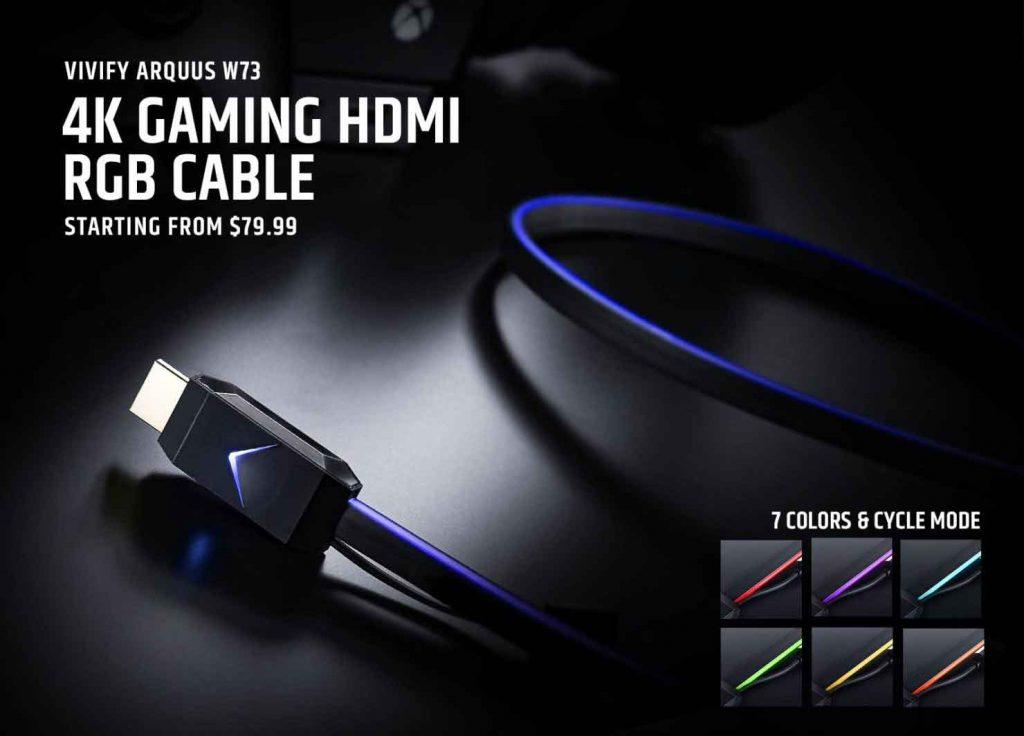 Cable HDMI Arquus W73 de Vivify