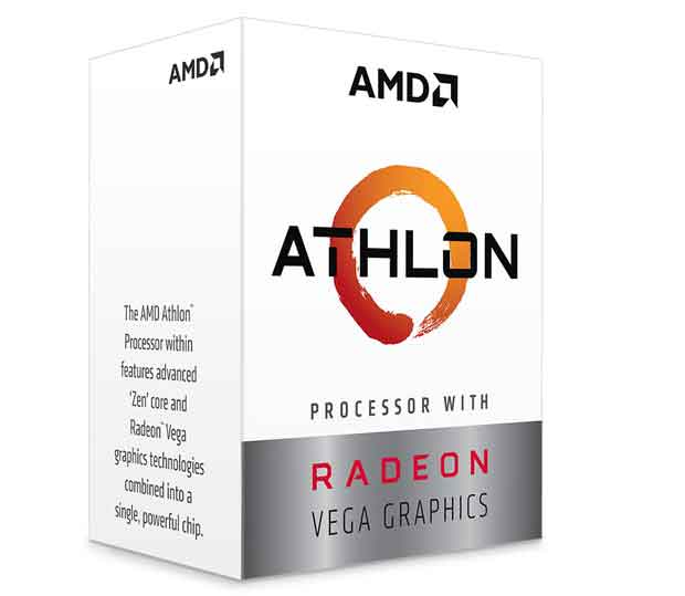 APU AMD Athlon 3000G