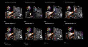 Cartes mères AMD X570 de Gigabyte