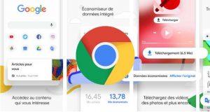 Navigateur Chrome sous Android