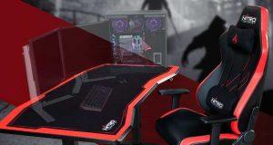 Le bureau gaming D16E de Nitro Concepts