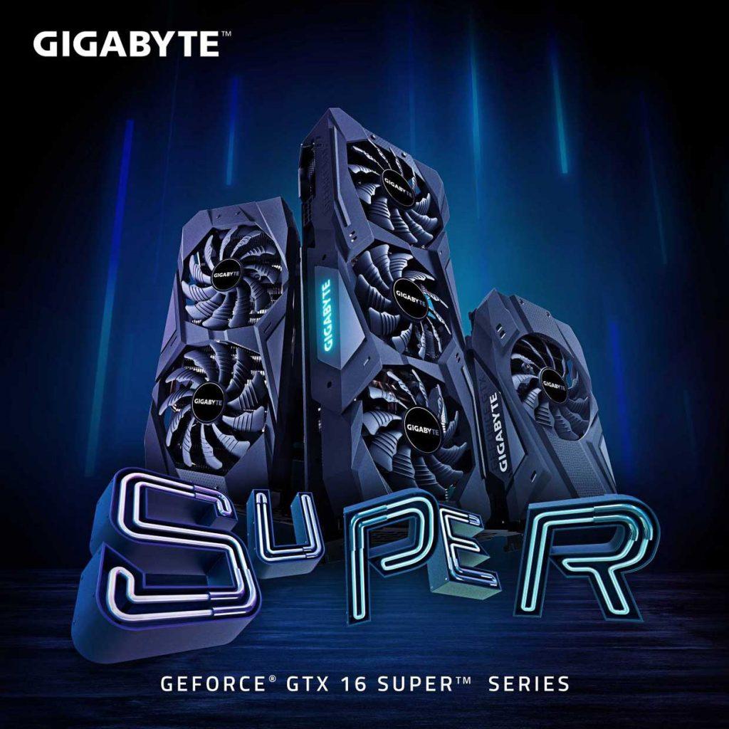 GeForce GTX 1660 et 1650 SUPER Gaming OC 6 Go de Gigabyte