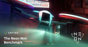 Benchmark Neon Noir de CryEngine