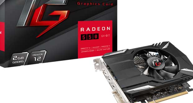 Phantom Gaming Radeon 550 2G d'ASRock