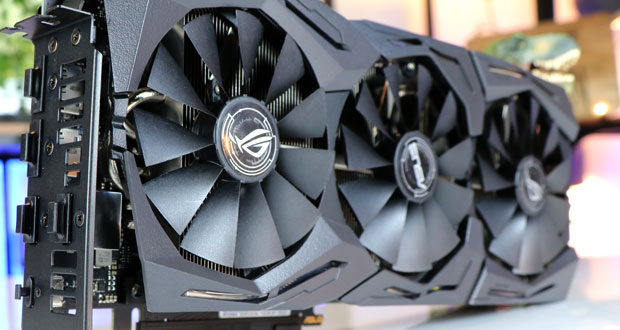 Carte graphique ROG Strix GeForce RTX 2060 SUPER OC d'Asus (ROG-STRIX-RTX2060S-O8G-GAMING)