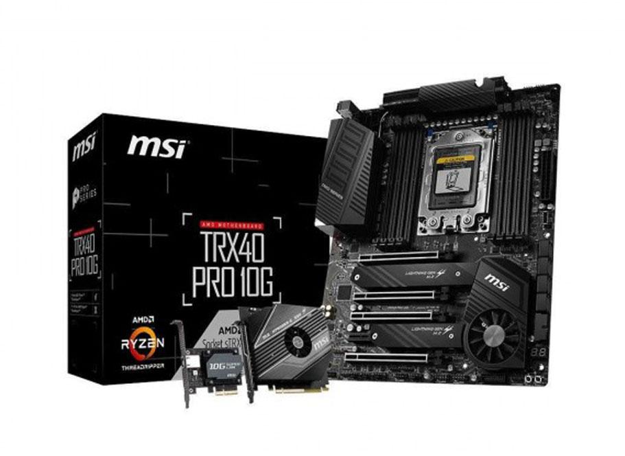Carte mère TRX40 PRO 10G de MSI