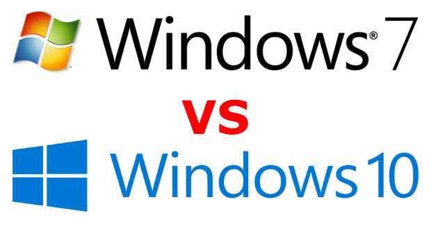 Windows 7 Vs Windows 10