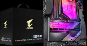Carte mère X299X Aorus Xtreme Waterforce de Gigabyte