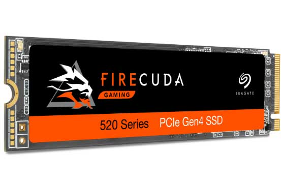 SSD FireCuda 520, Seagate annonce du 2 To à 5 Go/s