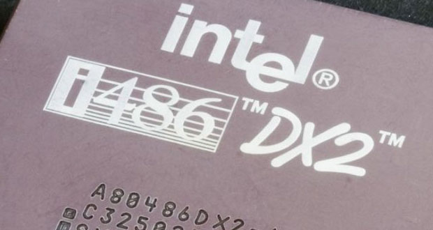 Processeur Intel 486 DX2 / 66