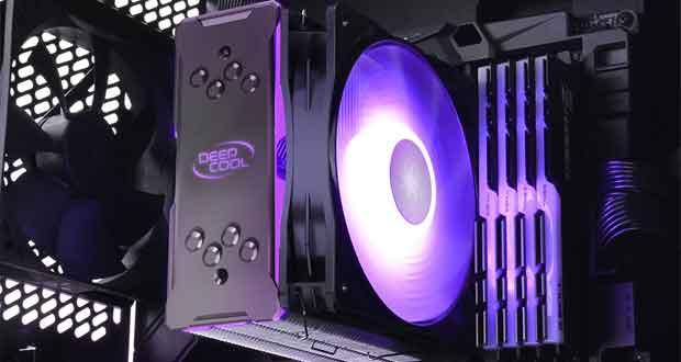 Ventirad GAMMAXX GT A-RGB de DeepCool