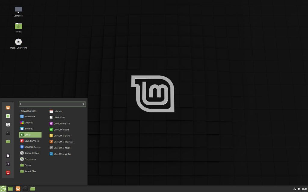 "Distribution Linux Mint 19.3 ""Tricia"""