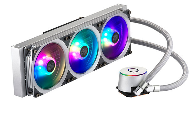 Watercooling AIO MasterLiquid ML360P Silver Edition