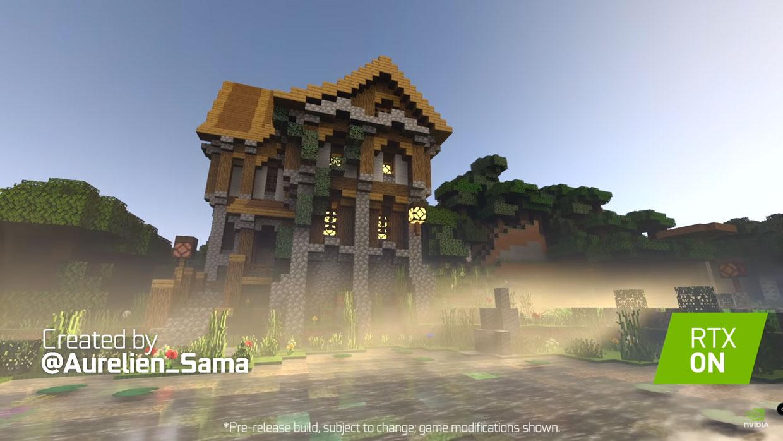Encore un lifting avec le ray tracing de RTX — Minecraft
