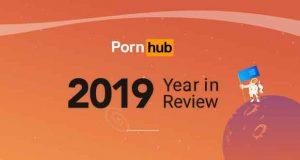 Pornhub, 2019 en chiffre